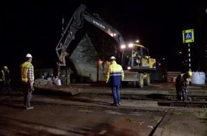 oude beplating Heiweg verwijderen
