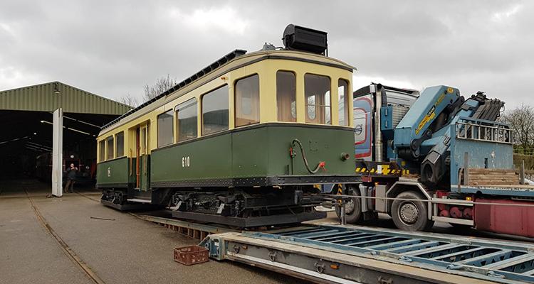 LTM 610 na bijna 10 jaar terug in Limburg