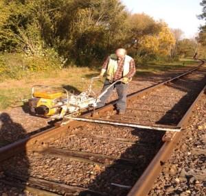 Verzwakken spoor
